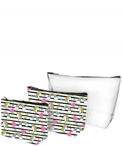 3PCS Cosmetic Bags Set CC0020-1