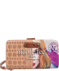Nicole Lee Billetera Wallet CLD6025 CAMEL