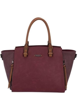 David Jones Women's  Shoulder Bag CM3984 BURGANDY