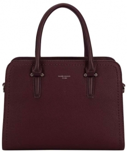 David Jones Tote handbag CM4013 BURGANDY