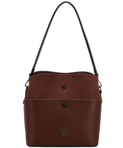 David Jones Womens Bag CM5382 DBROWN