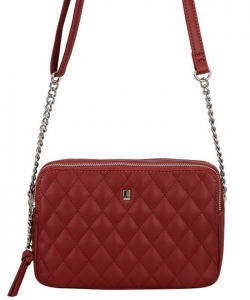 David Jones Women's Purse Crossbody CM5383 RED