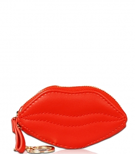 Lips Zipper Coin Purse CN1746 ORANGE