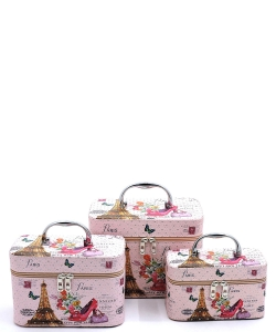 Printed 3in1 Make Up Case CO206