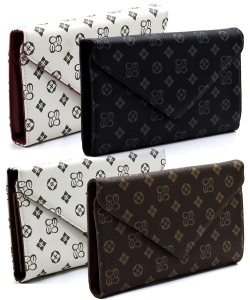 8pcs Monogrammed Envelope Clutch CS2500