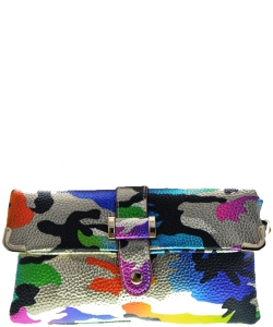 Camouflage Clutch Bag MULTI
