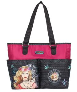 Nicole Lee Diaper Bag With Changing Mat and Photograph Frame DIA12202 Elsas Dream Catcher