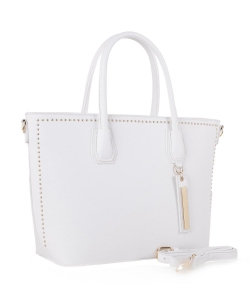 New Fashion Tote Bag ES-3347 WHITE