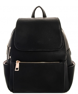 Multi-Compartment Fashion Flap Backpack ES1820