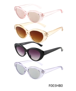 New Fashion Designer Western Sunglasses – F003HB0– 12 pcs/pack