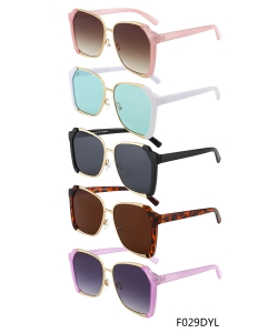 New Fashion Designer Western Sunglasses – F029DYL– 12 pcs/pack