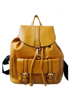 Fashion Backpack F1395 YELLOW