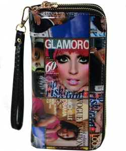 Magazine Fashion wallets F7288 MULTI