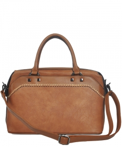 Fashion Satchel FBL001 BROWN