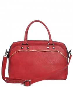 Fashion Satchel FBL001 BERRY