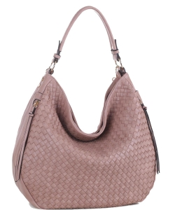 Elegant Trendy Fashion Handbag FC19537 MAUVE