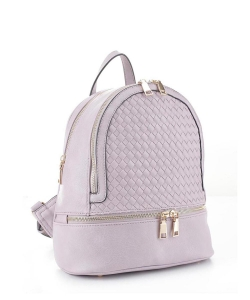 Fashion Woven Backpack FC19770 LAVENDER