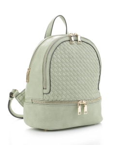 Fashion Woven Backpack FC19770 MINT