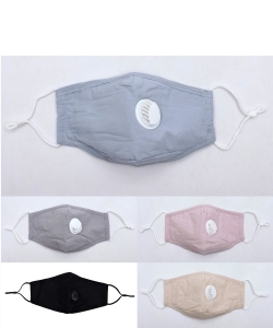 10 Pieces Fashion Cotton Mask with PM2.5 Filter FM2108BV-MX