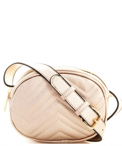 Designer Trendy Cross Body Waist Bag FY517 ROSEGOLD
