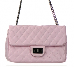 Faux Leather Clutch Purse GCB991005 Pink