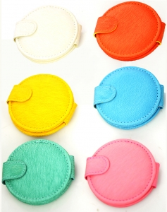 Compact Mirror Assorted colors 12 Pcs Set GCM84-1103