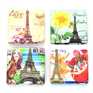 Paris Compact Mirror 12 Pcs Set Assorted colors GCM84-1174