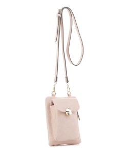 Women's Small Crossbody Cell phone Bag GS19548 BLUSH