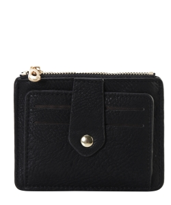 Compact Credit Card Case Wallet GS300  BLACK
