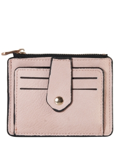 Compact Credit Card Case Wallet GS300  BLUSH