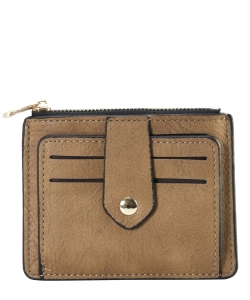 Compact Credit Card Case Wallet GS300  CAMEL