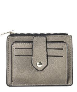 Compact Credit Card Case Wallet GS300  GRAY