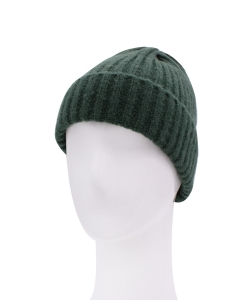 Knitted Beanie Hat HA320007 GREEN