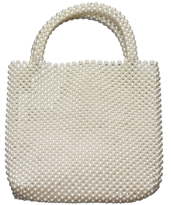 Pearl Beaded Tote Bag HBG103299