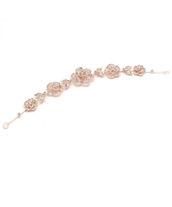 Bridal Item, Wedding Hair Accessory HM300049 ROSEGOLDCL