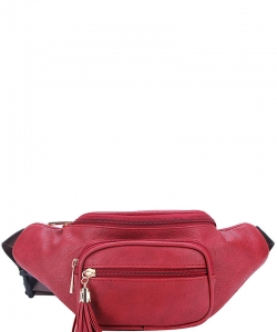 Designer Chic Waist Bag  KL089 RED