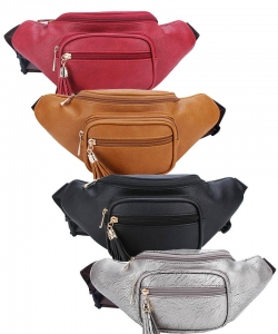 Package of 8 Pieces Designer Chic Waist Bag  KL089