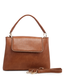 New Fashion Satchel Bag KLM-1856 CAMEL