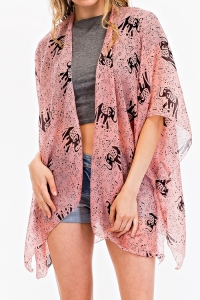 Summer Poncho Scarve Princess KSF204