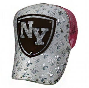 KTT41 X20 Trucker Hat New York White