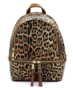 Leopard Backpack LE1082 TAN
