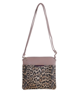 Leopard Crossbody Bag LM19577 TAUPE