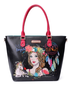 Nicole Lee Love Your Look Boho Floral Shopper Bag LOV15142