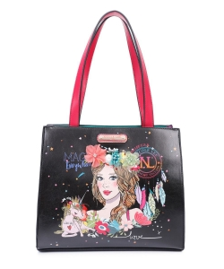Nicole Lee Love Your Look Boho Floral Tote Bag LOV15147