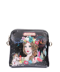 Nicole Lee Love Your Look Boho Floral Crossbody Bag LOV15148
