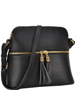 Two Color Cute Cross Body Bag Design LP051 BLACK