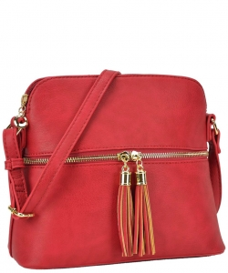Two Color Cute Cross Body Bag Design LP051 RED