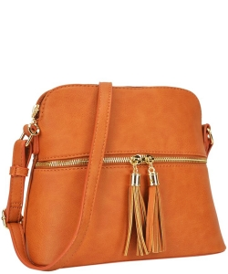 Two Color Cute Cross Body Bag Design LP051 TAN