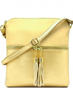 Elegant Wholesale Fashion Cross Body Bag LP062-BG/GOLD