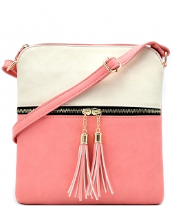 Elegant Wholesale Fashion Cross Body Bag LP062-BG/PINK